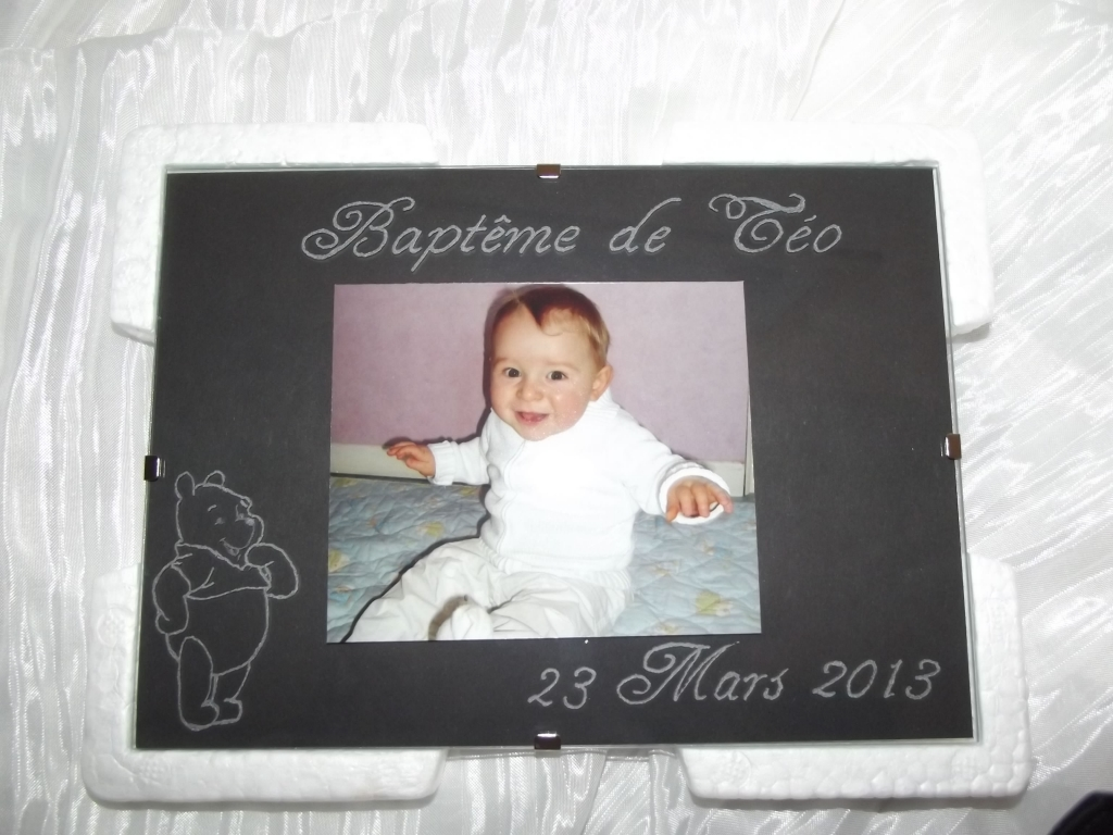 cadre photo grav 233 naissance b 233 b 233 ou bapt 232 me val creation val creation beuvry la for 234 t